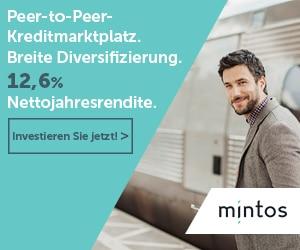 Mintos: 1% Spielgeld obendrauf für Neukunden
