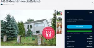 EstateGuru Charity Projekt