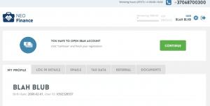 Neo Finance Konto eröffnen