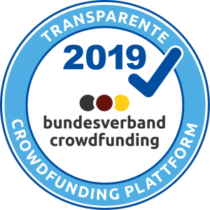 Crowdfunding Siegel