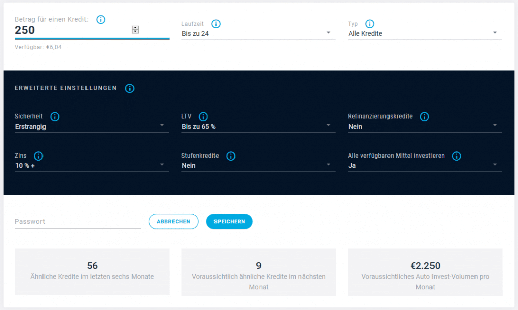 Autoinvest Update Estateguru