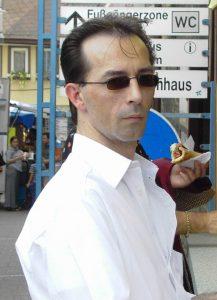 Helmut unser P2P Cafe Gast