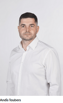 Andis Taubers CEO von Monethera