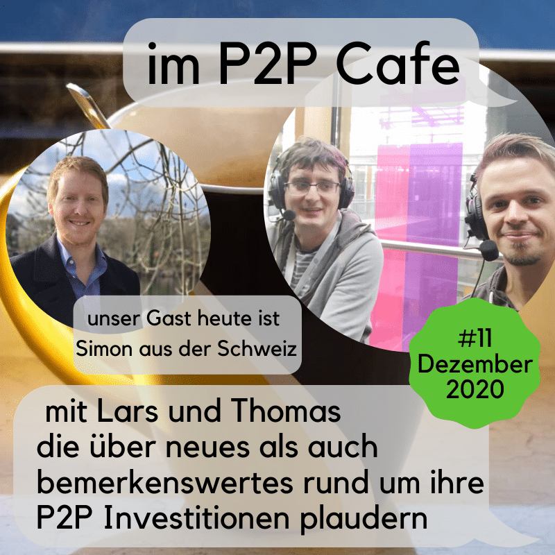 Simon im P2P Cafe