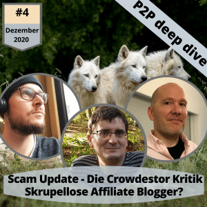 Scam Update im P2P Deep Dive Podcast