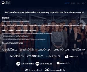 Cream Finance die company hinter esketit