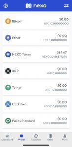 Krypto Lending mit Nexo