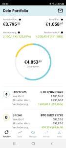 Bison App einfach Bitcoin kaufen